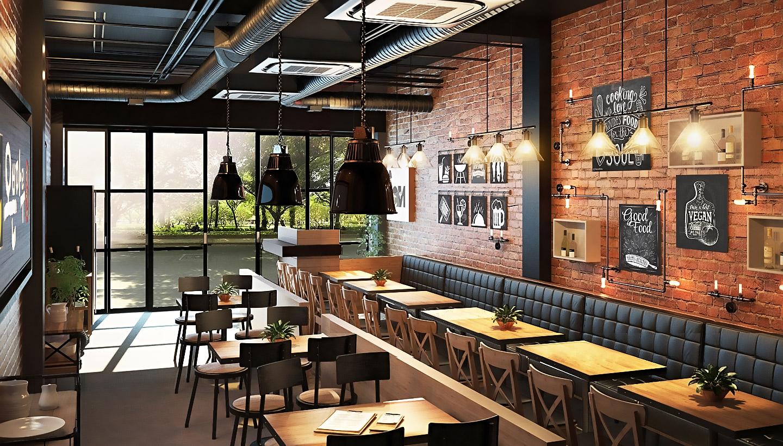 Thiết kế quán cafe Charm Bistro