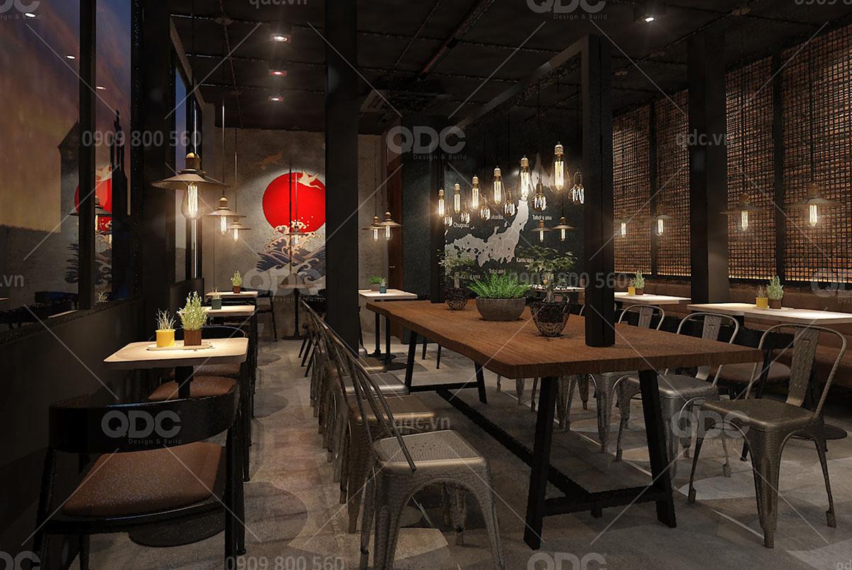 Thiết kế quán cafe Matsuzakaya