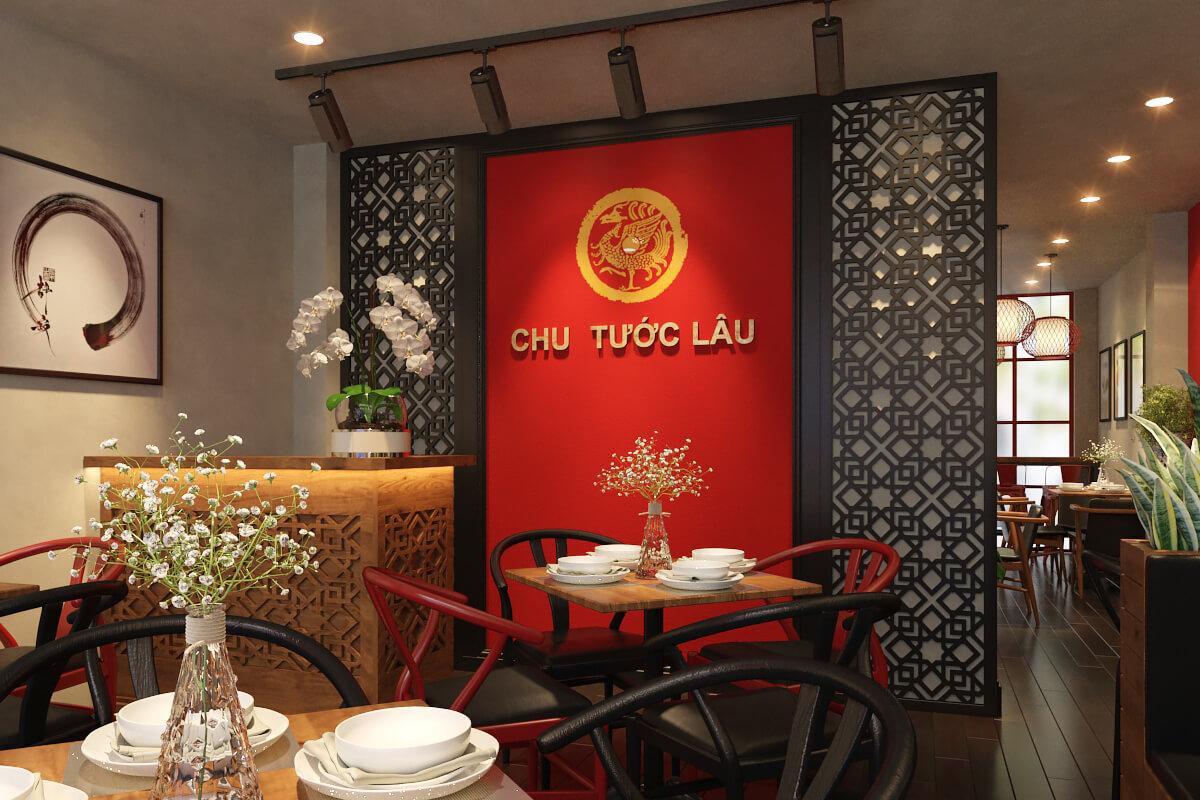 Thiết kế nhà hàng Hoa Chu Tước Lâu
