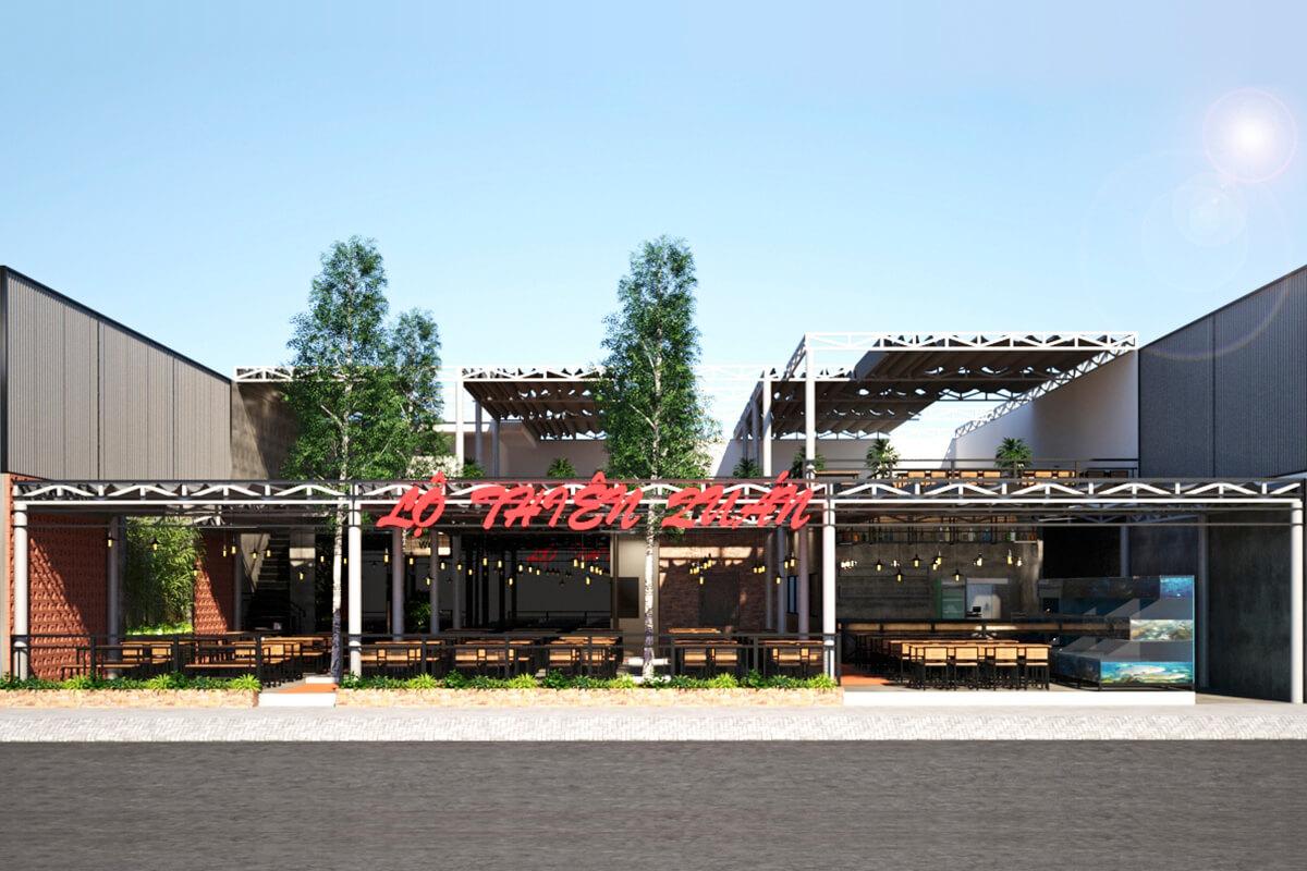 Nhà hàng Lộ Thiên Quán
