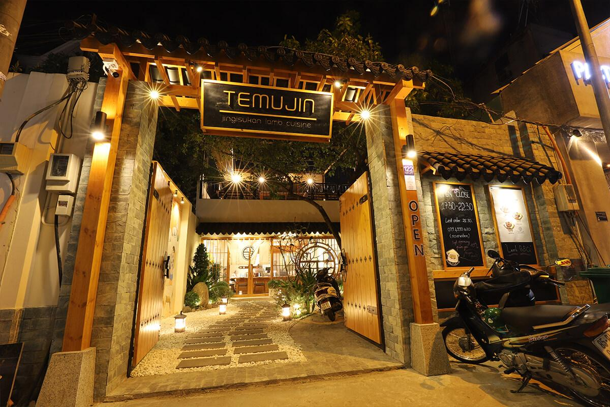 Thiết kế thi công Nhà hàng hàn Quốc Temujin