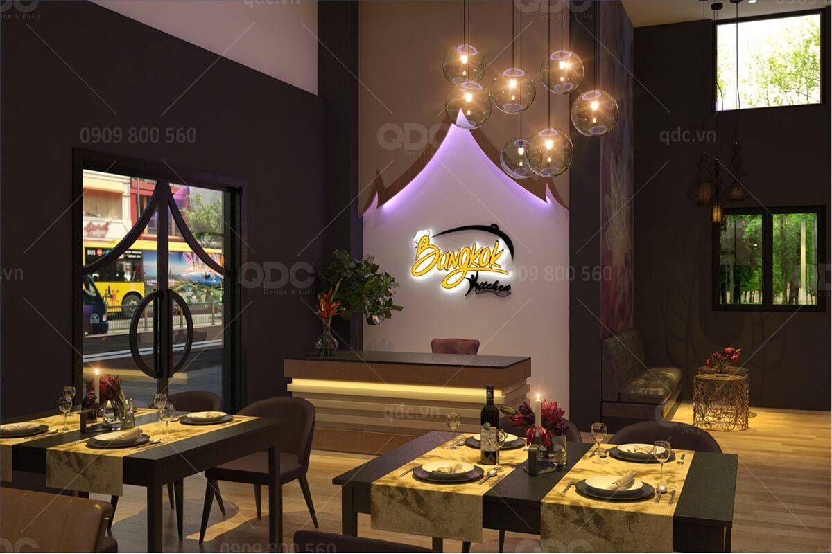 Lựa chọn nội thất cũng khá quan trọng khi thiết kế nhà hàng BBQ