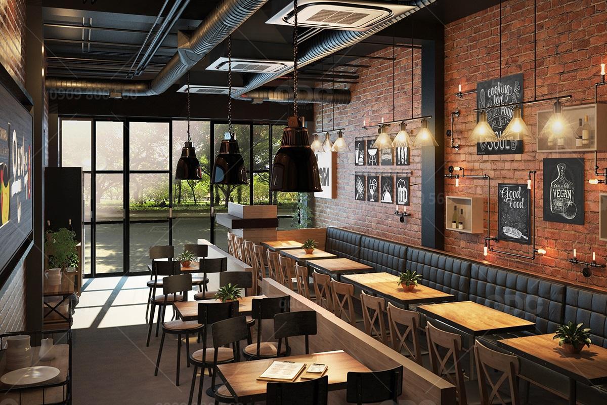 Thiết kế nhà hàng Hàn Quốc sang trọng tiện nghi với chi phí thấp