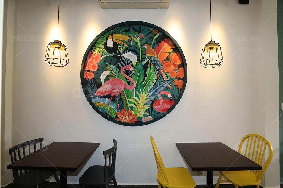 Updating hoàn thiện thiết kế thi công nhà hàng Nguyên Sinh (Tháng 05/2020)