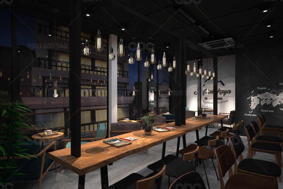Thiết kế nhà hàng Nhật Darum