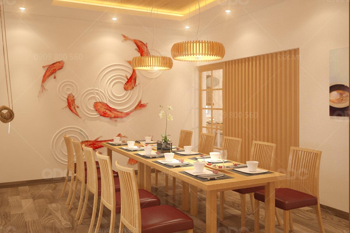 Thiết kế nhà hàng Nhật Kanouan Katsu