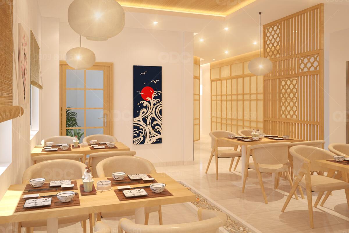 Không gian nhà hàng đẹp là điểm cộng trong mắt thực khách