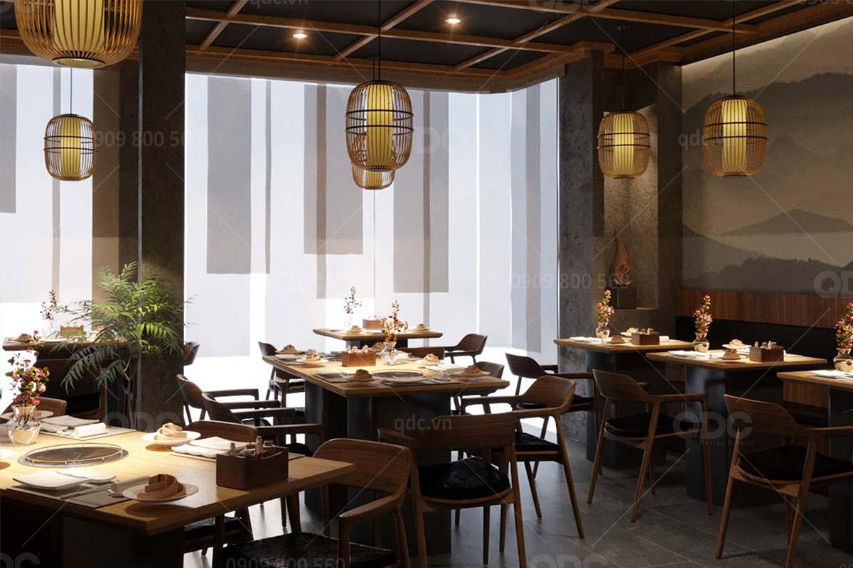 Thiết kế nhà hàng BBQ mang phong cách Tây Âu