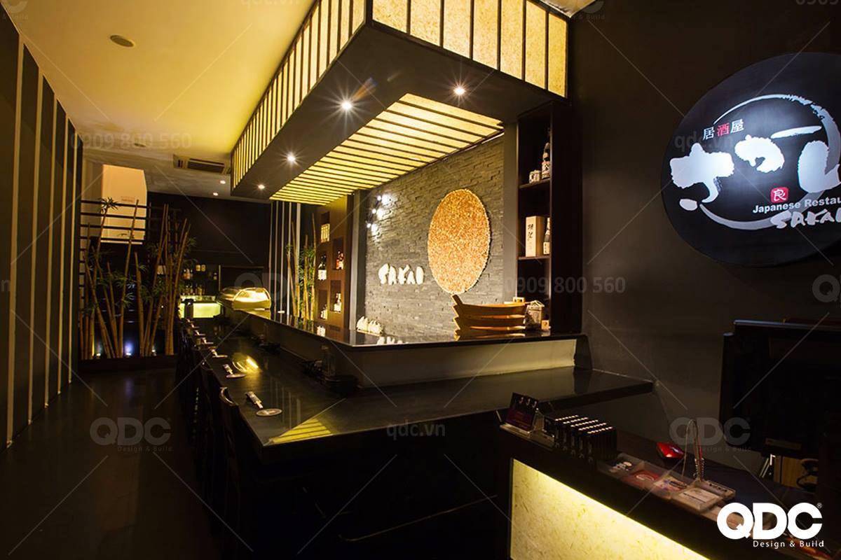 Thiết kế nhà hàng Nhật Sakai