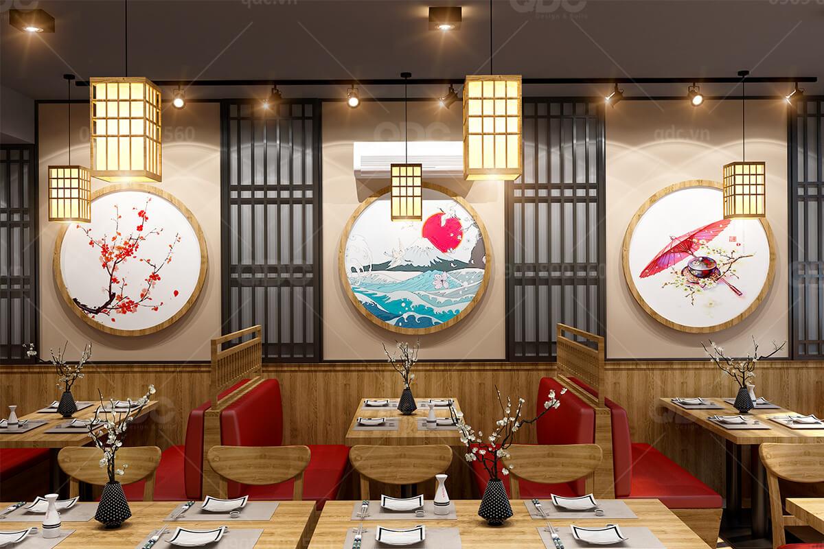 Ấn tượng với 15 mẫu thiết kế nhà hàng Nhật độc đáo thu hút thực khách