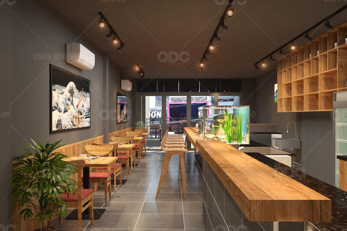Làm thế nào để thiết kế nội thất nhà hàng Nhật tiết kiệm chi phí nhất?