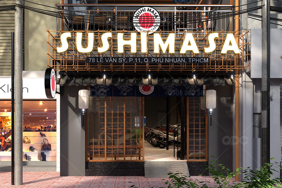 Thiết kế nhà hàng Nhật Bản độc đáo giúp kinh doanh phát đạt