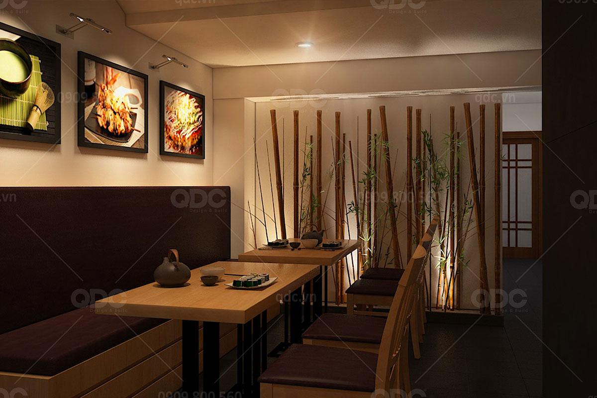 Thiết kế nhà hàng Nhật Takoya