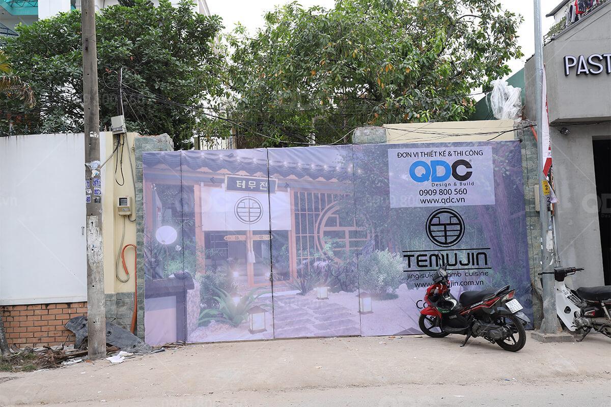 QDC là đơn vị thiết kế nhà hàng Hàn Quốc chuyên nghiệp được nhiều khách hàng tin tưởng
