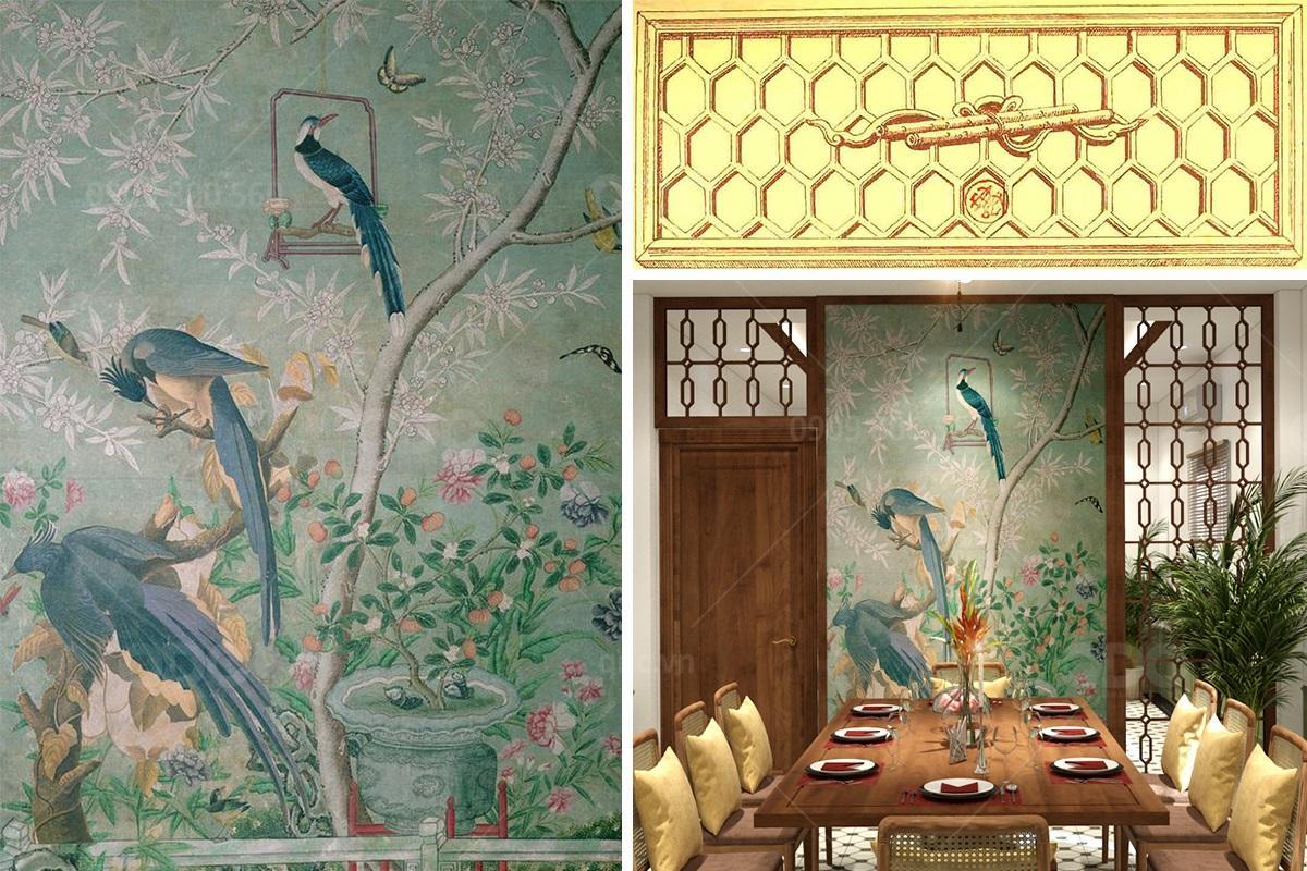 Thiết kế nhà hàng phong cách Indochine