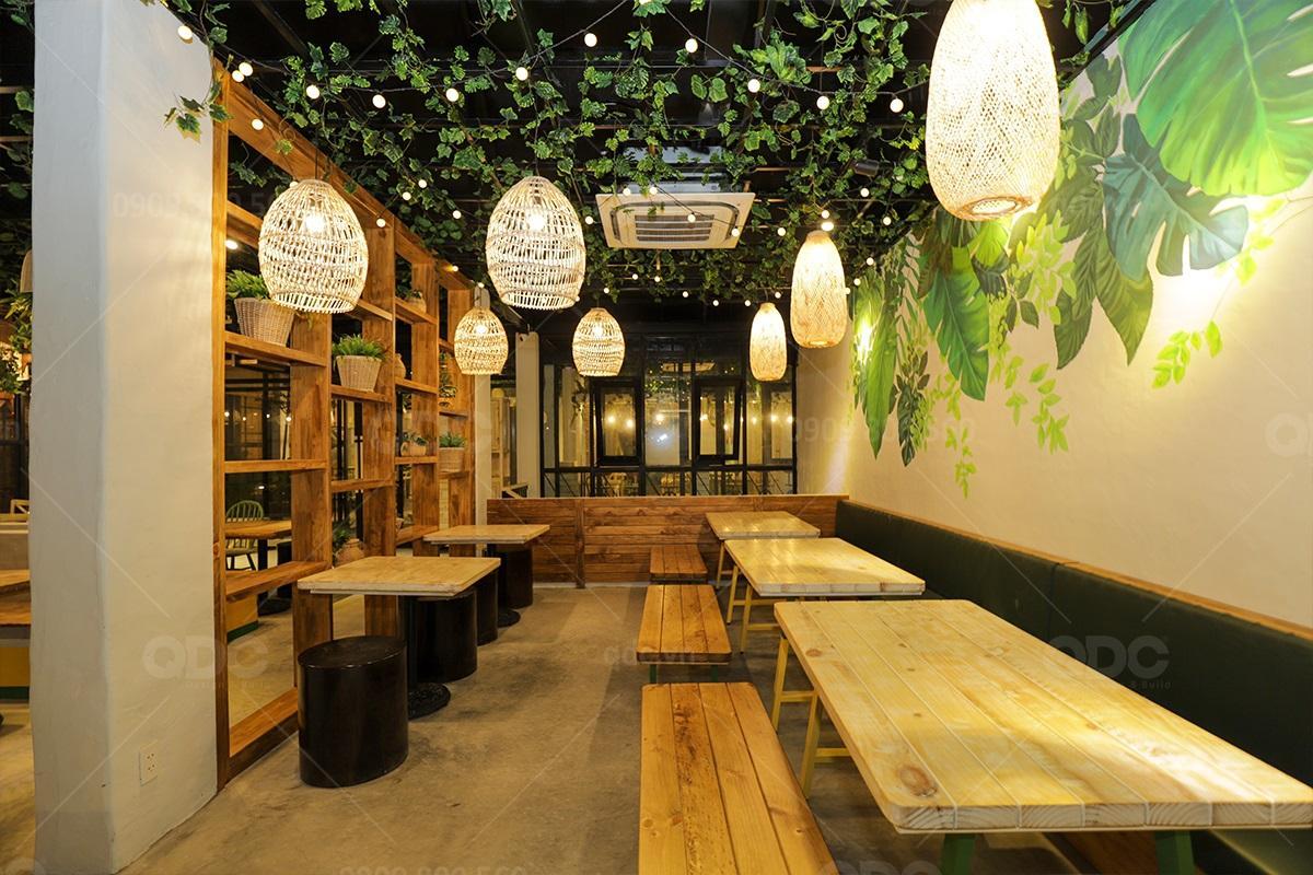 Updating Hoàn Thiện Thiết kế Thi Công Nhà hàng - Cafe Phương Minh Garden (Tháng 05/2020)