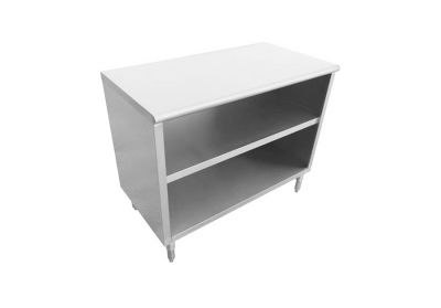Stainless steel cupboards with drawers
