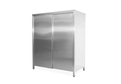 Vertical stainless steel cupboards