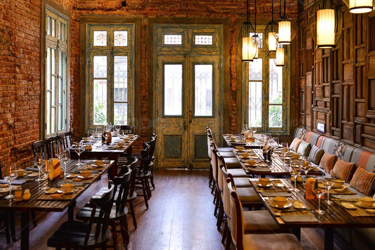 Phong cách Vintage và Retro – Hai mảnh ghép cổ điển trong thiết kế nhà hàng