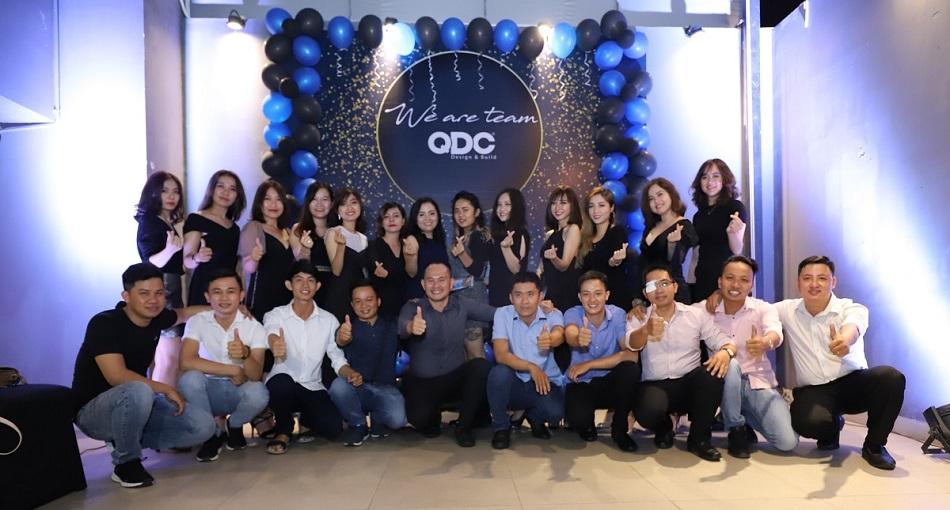 Tiệc tất niên đơn vị thiết kế nhà hàng QDC Design & Build 2018