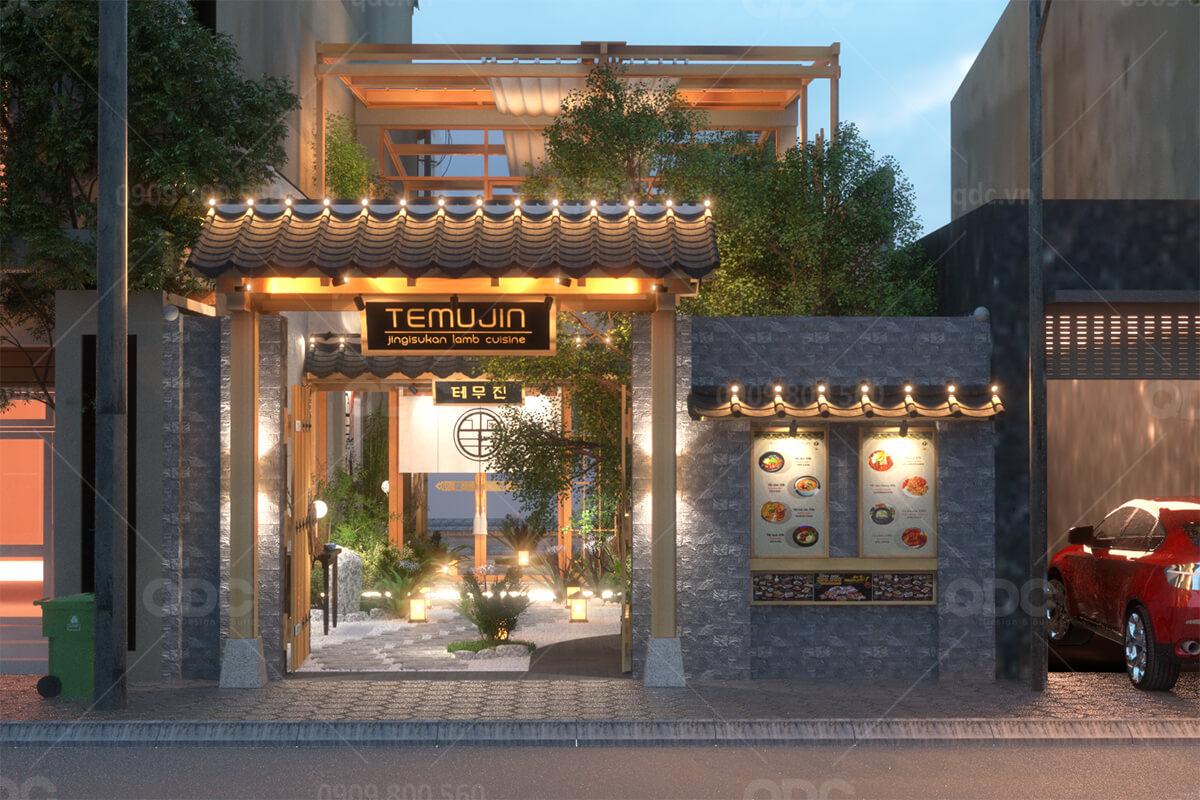 Nguyên tắc thiết kế nhà hàng Hàn Quốc vạn người mê