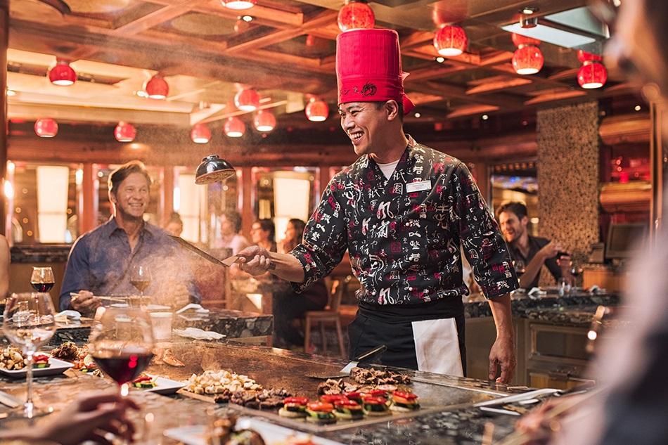 Thiết kế nhà hàng Nhật phong cách ẩm thực Teppanyaki