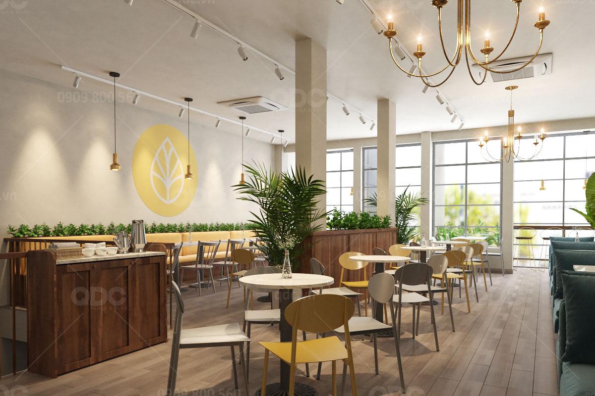 Kinh nghiệm thiết kế quán trà sữa dưới 150m2 ấn tượng thu hút thực khách